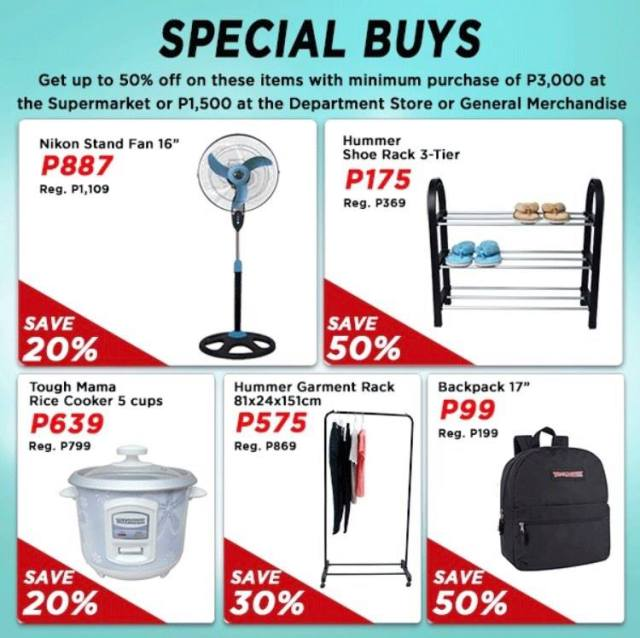 On top of all the discounts, there are special offers up for grabs. | CebuFinest