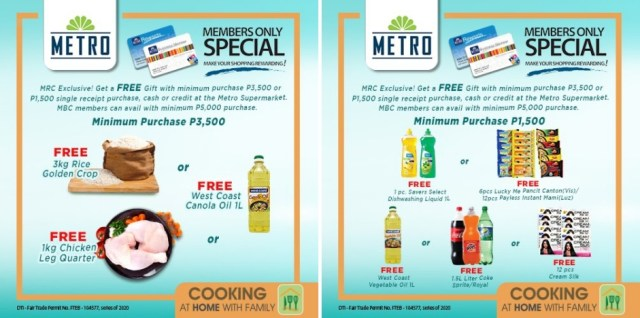Exclusive perks and treats await members of MRC and MBC at the 7-day Stock-Up and Save. | CebuFinest