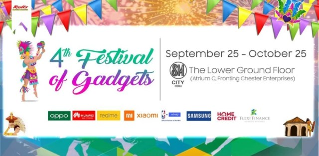 This is why this year's 4th Festival of Gadgets is the perfect avenue for everyone to get the most deals out of their newest cellphone and accessories. | CebuFinest