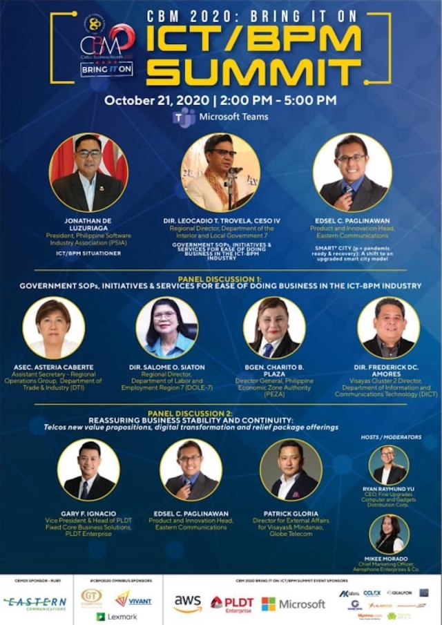 CBM2020 continues to 'Bring IT On', launches ICT-BPM Summit | CebuFinest