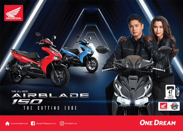 HPI heeded this call and provided riders with an incredibly stylish and innovative motorcycle, The All-New AirBlade150. | CebuFinest