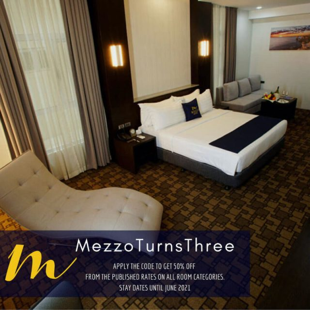 Get 50% off from the published rates on all room categories with stay dates until June 2021. | CebuFinest