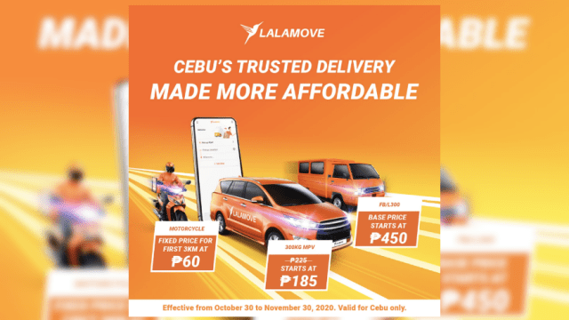 Deliveries made more affordable with Lalamove | CebuFinest