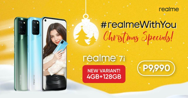 Capture Every Style this Christmas as realme launches new realme 7i variant | CebuFinest