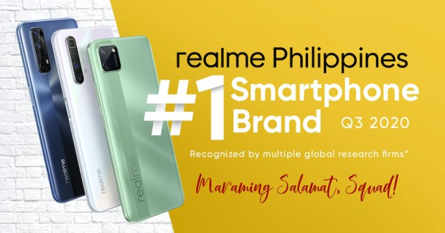 realme grabs PH top 1 smartphone brand slot in just 2 years | CebuFinest