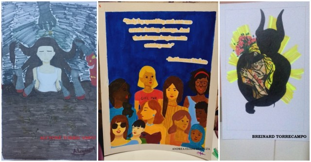 The paintings are part of the students' class in Social Studies | CebuFinest