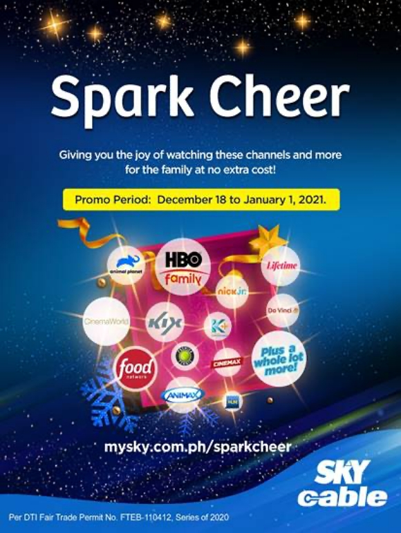 SKY calls on subscribers to share ideas on how to spark hope and joy this season | CebuFinest