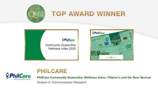 Leading HMO PhilCare wins big at the Philippine Quill Awards | CebuFinest