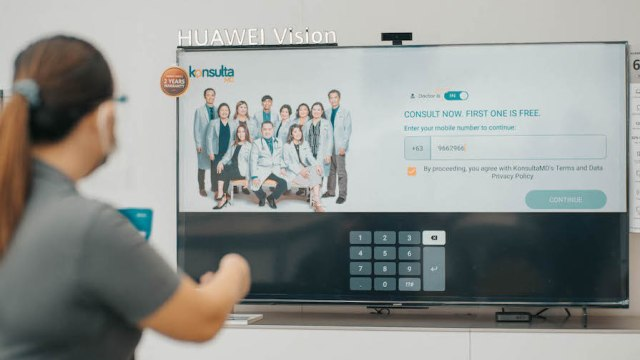Consult doctors on TV: KonsultaMD, Huawei bring medical consultations to Pinoy homes   CebuFinest
