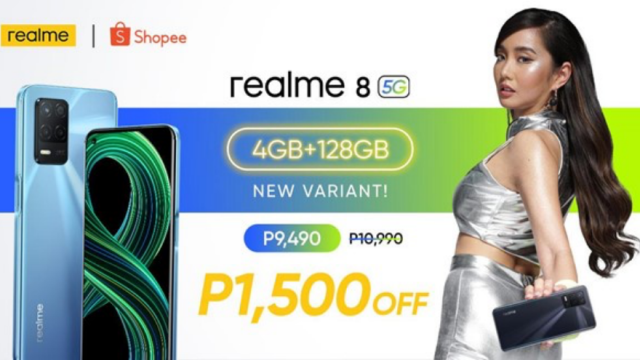It's official! realme 8 5G 4GB variant launching at ₱1,500 OFF on July 15   CebuFinest