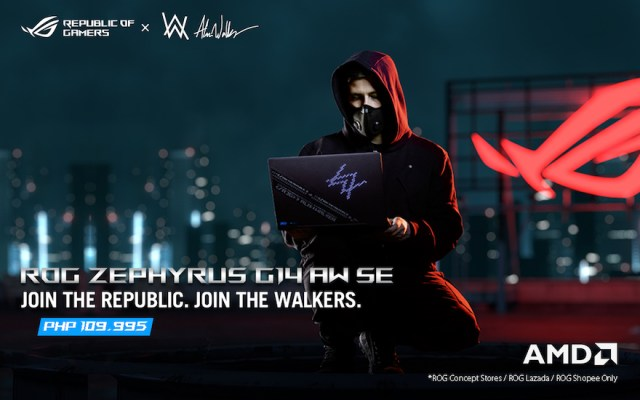 Republic of Gamers Philippines announces the Zephyrus G14 Alan Walker Special Edition | CebuFinest