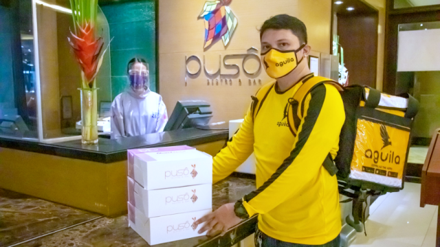 Quest Hotel Cebu partners with Aguila PH to provide food delivery service to customers | CebuFinest
