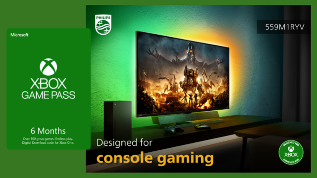 Philips Monitors gives out Xbox Game Pass to celebrate launch of Philips Momentum Designed for Xbox   CebuFinest