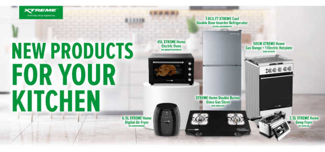 Upgrade your kitchen with XTREME Appliances' newest products   CebuFinest