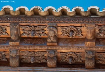 Alero del Convento del Carmen de Gea