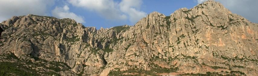 Muntanya Montserrat-m costa