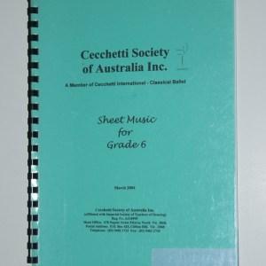 Grade 6 Sheet Music