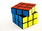 Rubik's cube top layer turned