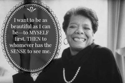 Maya Angelou Plus Size Dating