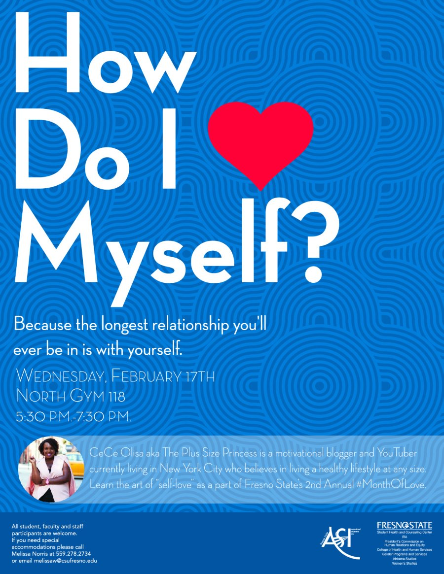 www.plussizeprincess.com How Do I Love Myself Speaking Engagmenet