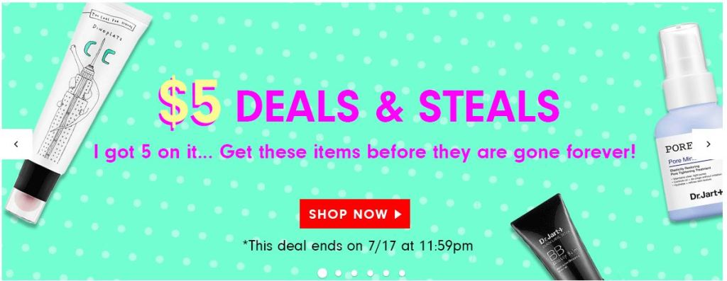 Haul: Epic $5 Sale at Memebox