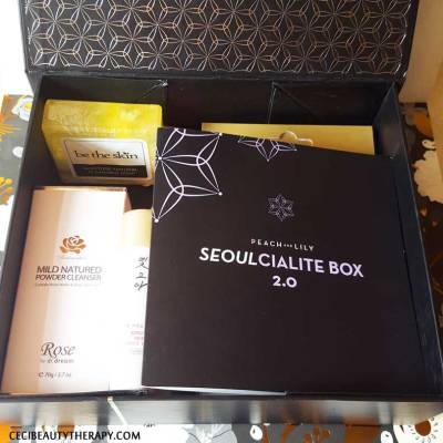 The Seoulcialite Box 2.0 opened box