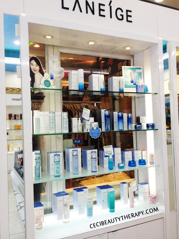 Laneige at Amore Chinatown NYC