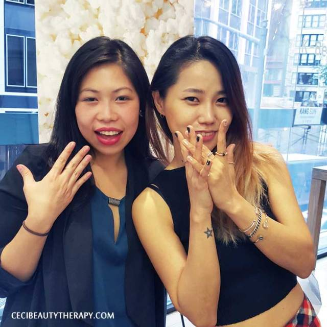 DIY Shattered Glass Nails Unistella Park Eun Kyung