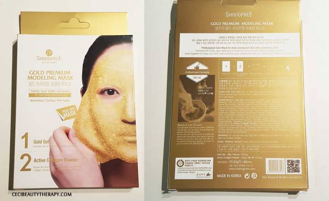 Shangpree Gold Rubber Modeling Mask Review (1)