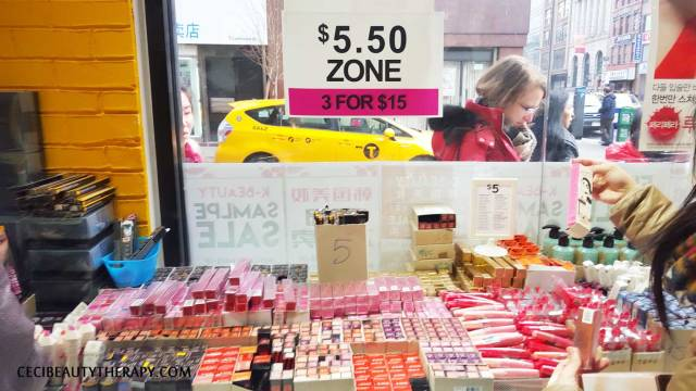 JKNLEE K-beauty Club Clio NYC Chinatown Sample Sale 2016 (14)