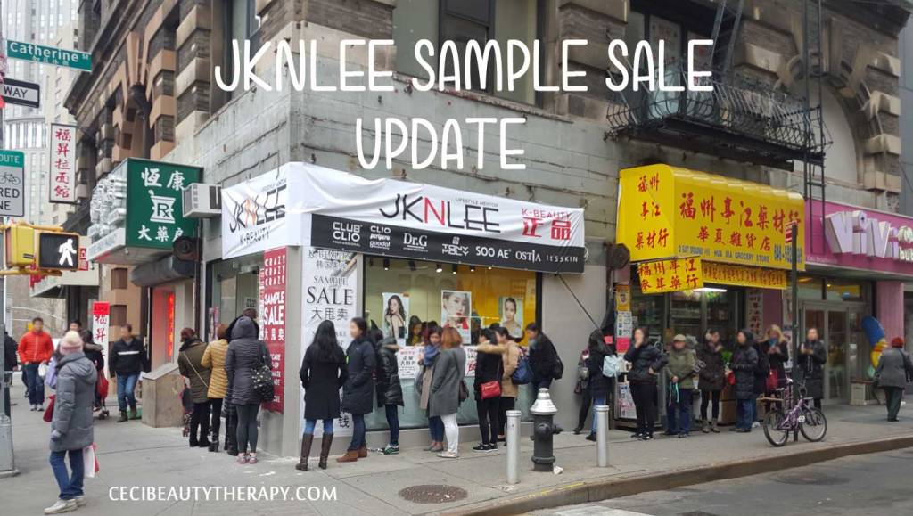 UPDATE: K-Beauty Sample Sale! Club Clio, Peripera, Goodal at Deep Discounts in Chinatown, NYC