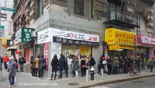 JKNLEE K-beauty Club Clio NYC Chinatown Sample Sale 2016