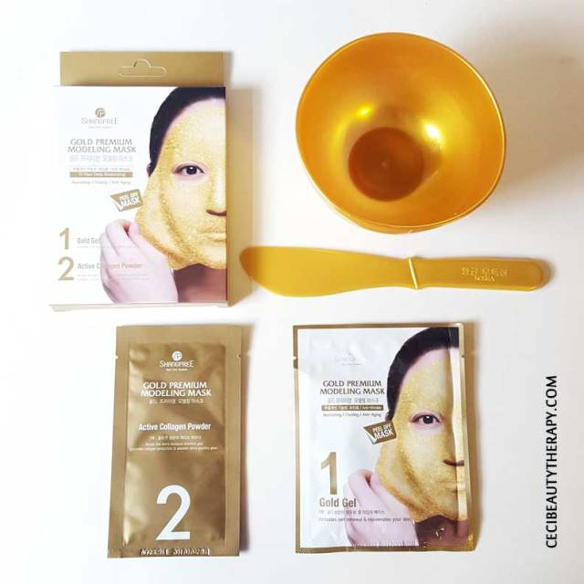 Shangpree-Gold-Rubber-Modeling-Mask-Review