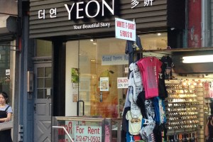 The Yeon Mott Street NYC Chinatown k-beauty shopping