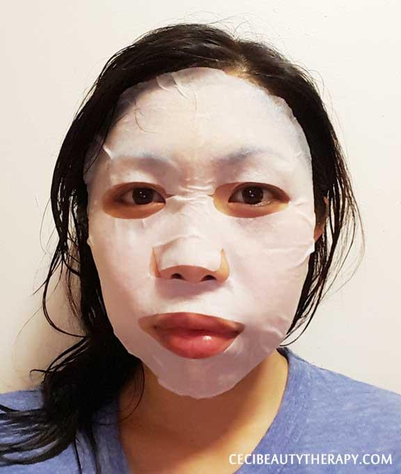 Kocostar Brightening Mask Chitosan Fiber Review