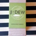 J DEW Review Green Moist Essence (5)