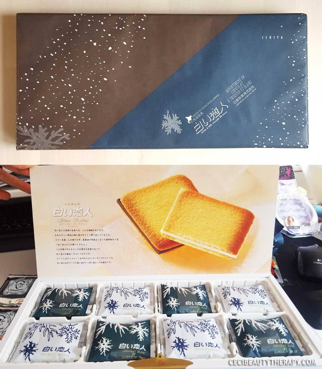 Hokkaido Milk Cookies, Ishiya Shiroi Kobito