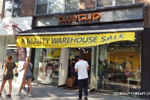 Club Clio Goodal Peripera JKNLEE Kbeauty Sample Sale Union Sq NYC 2017