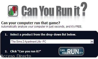 Can You RUN It