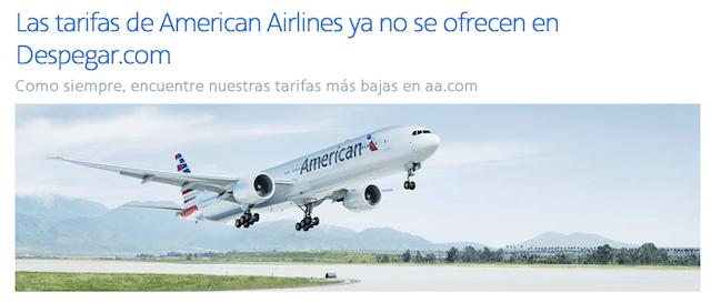 American Airlines- Despegar.com