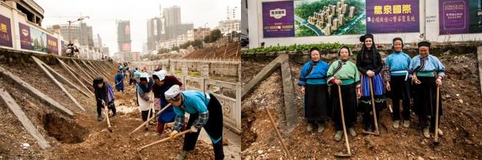 Obras públicas China, 2014 © ceci de f