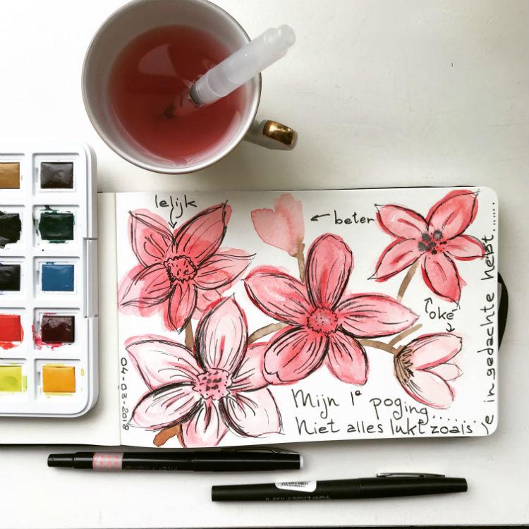 mini sketchbook_