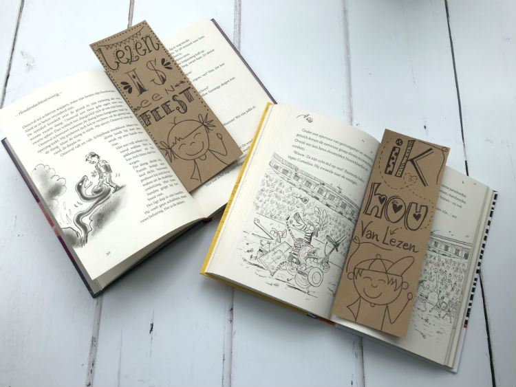 Workshop boekenlegger handletteren_ceciel maakt