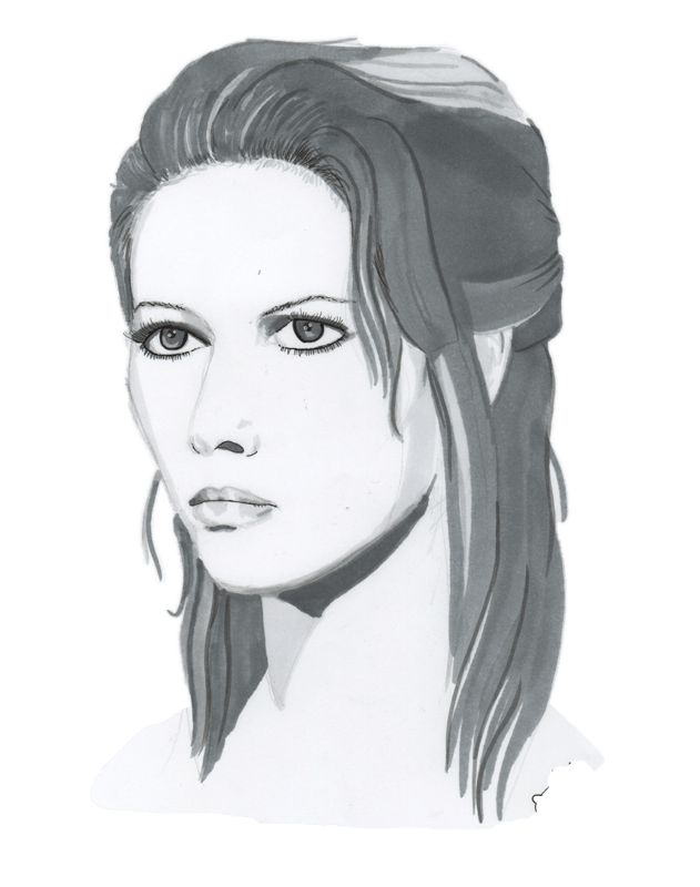 dessin representant Claudia Cardinale