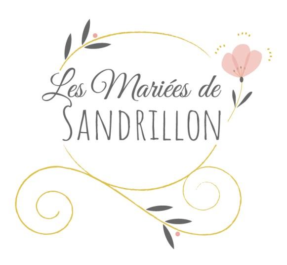 Logo les Mariées de Sandrillon représentant un carrosse doré décoré de feuilles et de fleurs