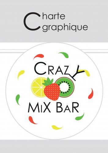couverture de la mini charte graphique du crazy mix bar