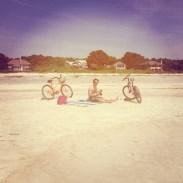 sunny bike + beach-filled days