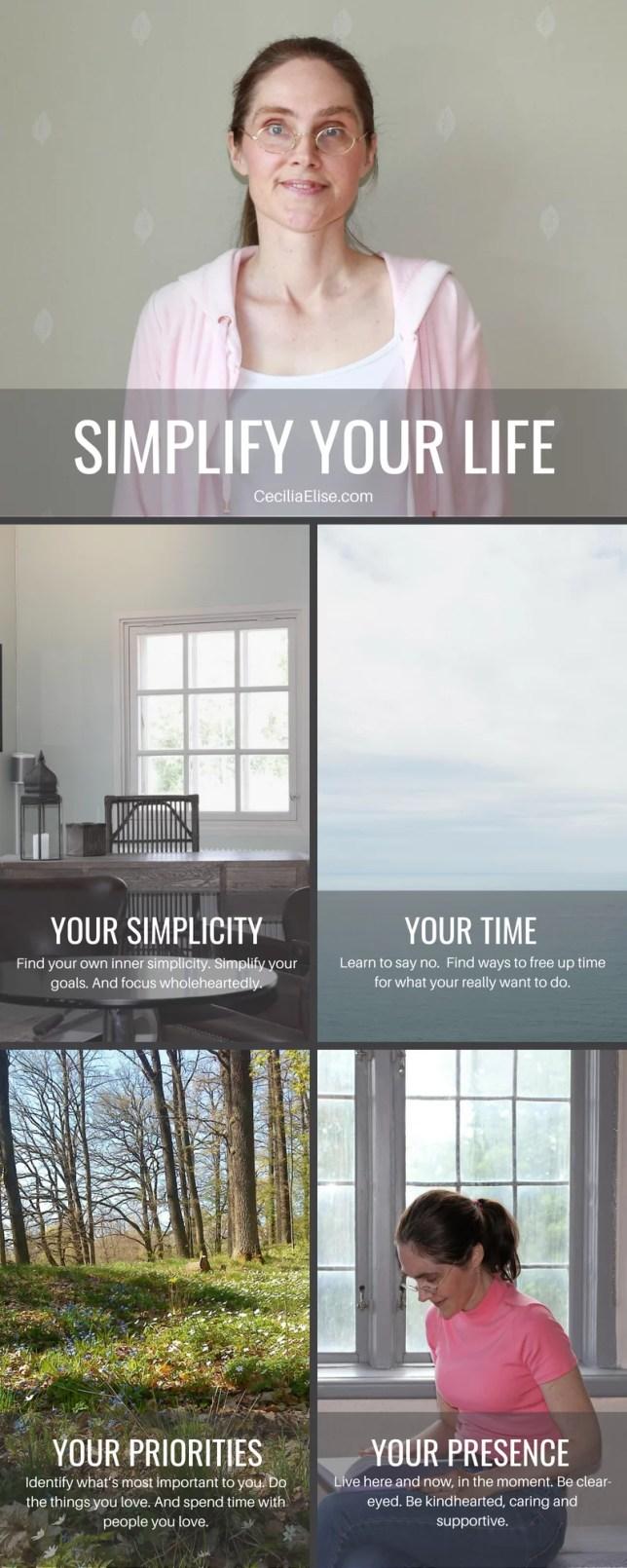 Cecilia Elise Wallin Simplify your life