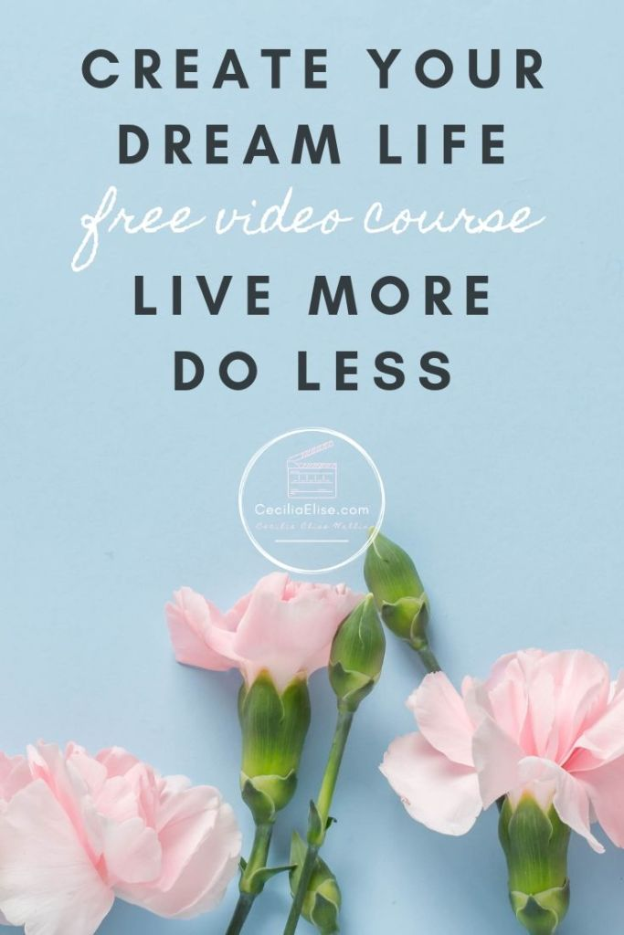 Self Care and Personal Growth | Create Your Dream Life CeciliaElise.com