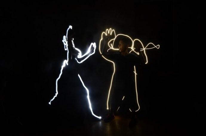 Desenho com luz